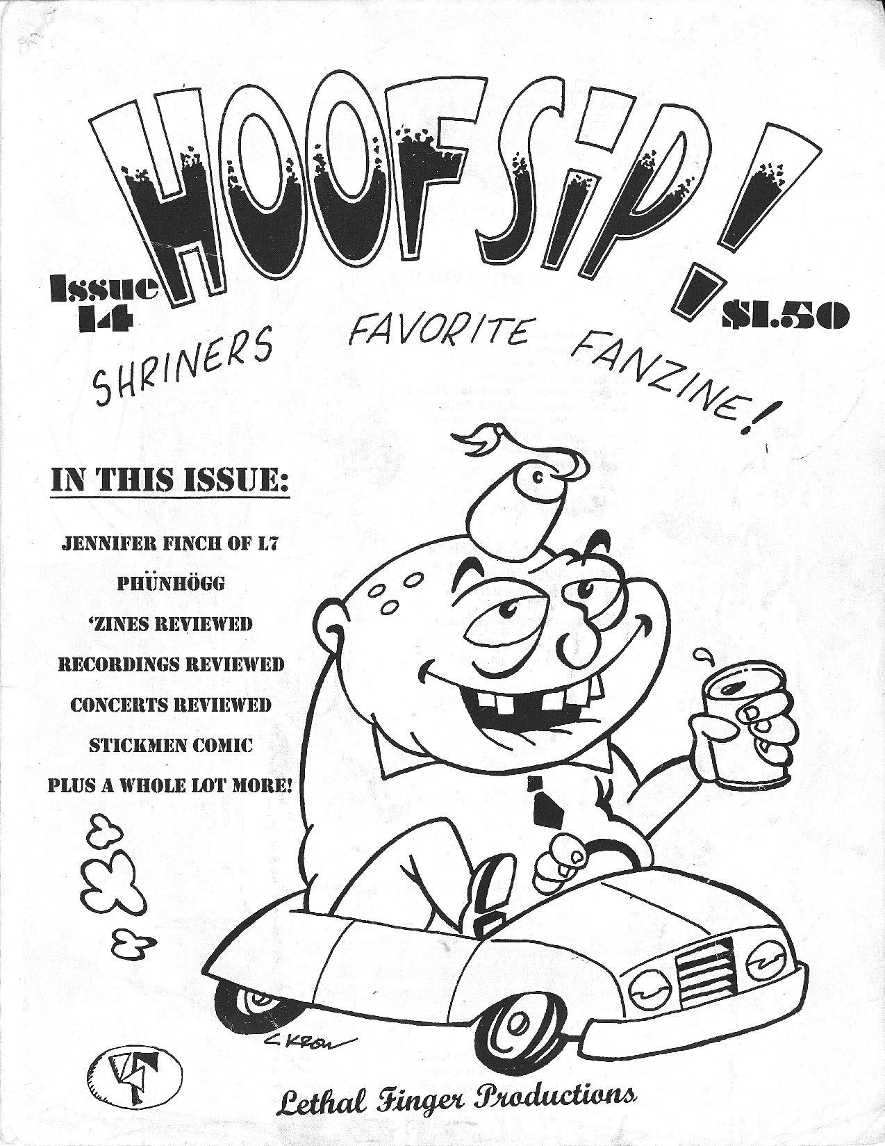 HOOFSIP #14 Cover