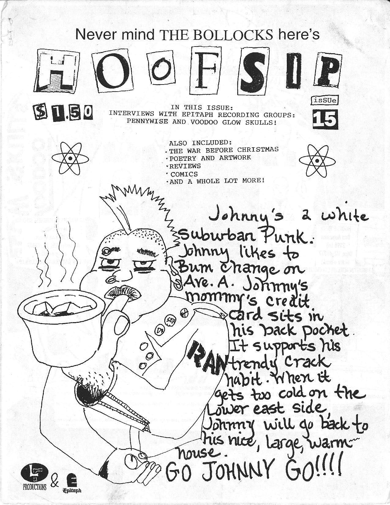 HOOFSIP #15 Cover