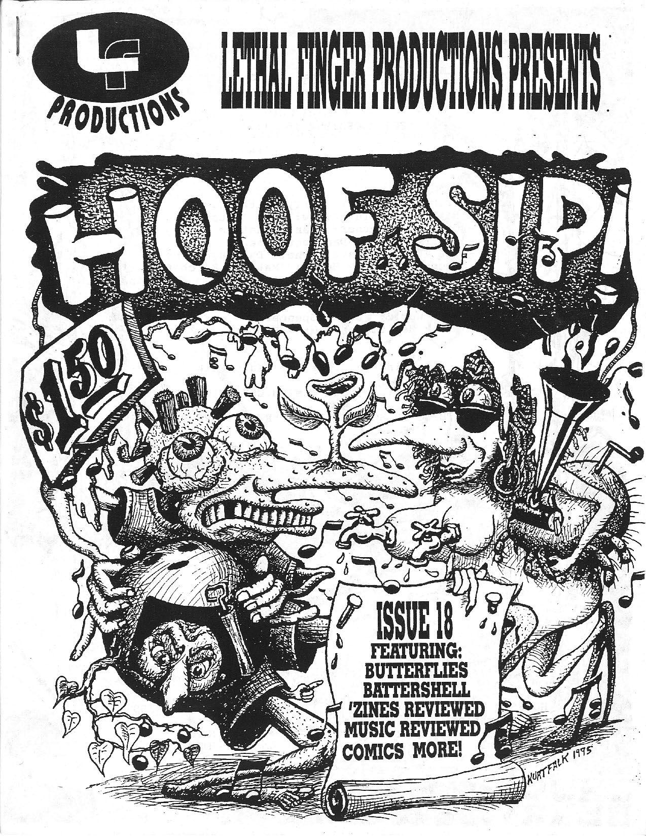HOOFSIP #18 Cover